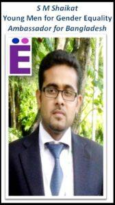 S M Shaikat, YM4GE Ambassador for Bangladesh