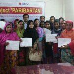 Paribartan closing & certificate award-2015