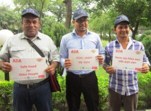 Pledges for safe food